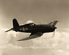 WWII PHOTO USMC MARINE CORPS F4U CORSAIR SOUTH PACIFIC 1944 8x10 #21864