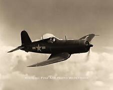 WWII PHOTO USMC MARINE CORPS F4U CORSAIR SOUTH PACIFIC 1944 8x10 #21864