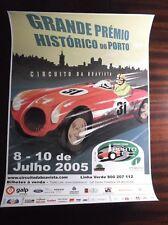 Original poster of the Grand Rally premium of Porto (Boavista circuit) Portugal.