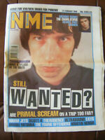 NEW MUSICAL EXPRESS NME - 21 FEBRUARY 1998 - PRIMAL SCREAM / CHARLATANS
