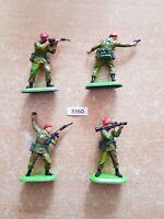 Britains Super Deetail Modern British Paratroopers (lot 3360)