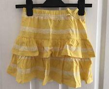 Vertbaudet girls Summer skirt age 8 years 126cm In Yellow.