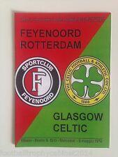 1970 European Cup Final Programme Feyenoord vs Celtic UEFA issue 2005