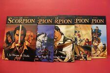 Le Scorpion, tome 1 à 5 - Marini Desberg - Album Occasion