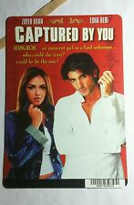 CAPTURED BY YOU ZAYED KHAN ESHA DEOL MINI POSTER BACKER CARD (NOT A movie )