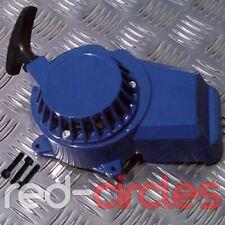 Bleu 49cc Métal Mini Saleté Vélo Démarreur à Tirette Cordon Fit 47cc Minimotos