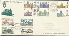More details for great britain 1969 churches festiniog railway trains first day cover bin £10