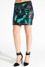 Sachin + Babi Brittany Skirt in Mermaid Sequins Nwt $395 Sz S