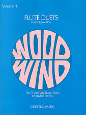 Trevor Wye Flute Duets Volume 1 Learn to Play Jean-baptiste Sheet Music Book