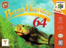 Bass Hunter 64 N64 Great Condition Fast Shipping