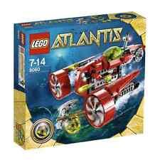 8060 TYPHOON TURBO SUB lego legos set NEW Atlantis retired NISB aqua raiders
