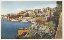 Malta Postcard - General View of Marina - Valletta    V2001
