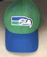 NFL Seattle Seahawks Reebok Vintage Collection Hook & Loop Dad Ball Cap Hat
