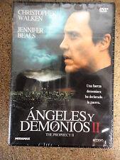 DVD (nuevo) Angeles y Demonios,Christopher Walken
