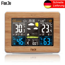 FanJu 3365W Funkwetterstation mit Außensensor/ßentemperatur/Barometer/Mondphase