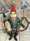 "Vintage RARE Guinness Beer Stout Leprechaun Gnome 20"" 1950's"