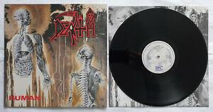 @@@ Death - Human first press LP vinyl  R/C Records RC 9238 1 Deicide Vader @@@