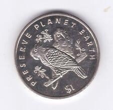 LIBERIA 1 DOLLAR  1999  BIRDS  NI  UNC