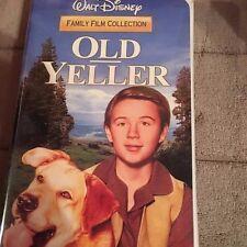 OLD YELLER WALT DISNEY VHS CLAMSHELL