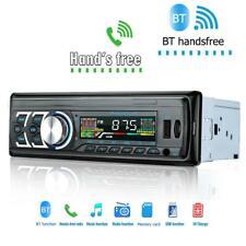 1DIN Bluetooth Car Stereo Audio FM Receiver USB MP3 Radio Player In-Dash Unit