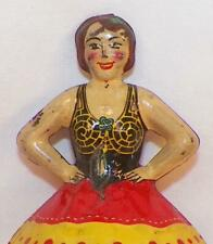 Marx Ballerina Spinning Top Tin Toy Ballet Dancer Vintage 1930s Hard To Find