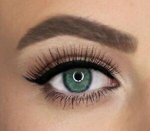 False eyelash Super Natural Wispy Eyelashes W6 UK SELLER 100% Luxury Silk Lashes