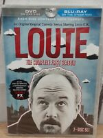 Louie The Complete First Season Blu-ray / DVD Brand New Factory Sealed Free Ship