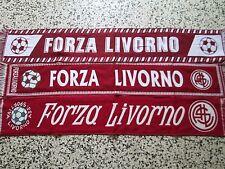 lotto 3 sciarpe LIVORNO FC club football calcio scarf bufanda echarpe lot a