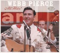 WEBB PIERCE All Hits! (2010) 48-track 3xCD box set NEW/SEALED Wondering