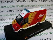 voiture 1/57 DEL PRADO Pompiers du Monde IVECO Magirus FRAP 2005 Allemagne