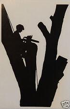 Tree Climber Adesivo / Decalcomania ALBERO chirurgia / settore forestale / albero chirurgo uso.