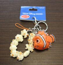 DISNEY KEYCHAIN POPCORN BUCKET FINDING NEMO TOKYO DISNEYRESORT STRAP JAPAN F/S