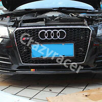 A7 Front Mesh Grille Grill for Audi A7 & S7 2011-15 To RS7 Style Chrome Frame