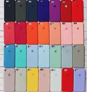 Cover Custodia In Silicone Per Apple iPhone 6/6s 7/7+ 8/8+ X/XS/XSMAX