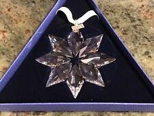 2013 Annual Large Swarovski Snowflake Ornament Nib! #5004489