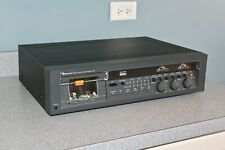 Nakamichi 582 stereo cassette deck Circa 1978 Rebuilt By Willy Hermann Services