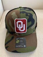Nike Men's Oklahoma Sooners Camo Classic99 99 Trucker Snapback Hat OU NEW