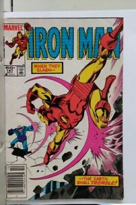 Collectible Marvel Iron Man Comic Book Oct. 1984  #187
