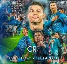 CRISTIANO RONALDO REAL MADRID VS JUVENTUS FOOTBALL WALL ART CANVAS PICTURE PRINT
