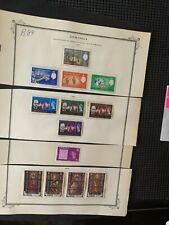 1966 1967 1969 Dominica multiple 1c 5c 15c 24c 1/2c 5c 10c 15c 24c + stamps B84
