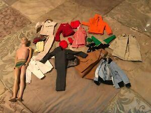 HUGE LOT Vintage Ken Doll + Clothes  & Accessories