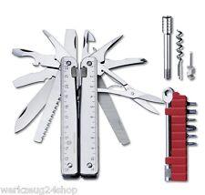 Victorinox SwissTool X PLUS 3.0339.L mit Leder-Etui Messer Multitool