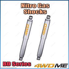 "Pair of Nissan Navara D21 D22 4WD Rear Nitro Shock Absorbers 2"" 40mm Lift"