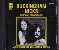 "LINDSAY BUCKINGHAM STEVIE NICKS ""BUCKINGHAM NICKS"" CD ANTHEM RECORDS AUSTRALIA+"