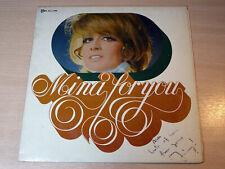 EX- !! Mina/Mina For You/1969 PDU LP