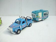 1/30 SHINSEI CHEVY CUSTOM PICK UP TRUCK WITH VINTAGE CARAVAN SET NICE!!