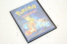 More details for pokemon original wotc 1999 a5 binder 4 pocket card folder - excellent condition