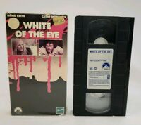 Paramount VHS White Of The Eye 1988 Rare Horror Cathy Moriarty David Keith OOP