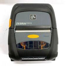 USED Zebra ZQ510 Mobile Wireless Bluetooth POS Docket Receipt Printer 1146