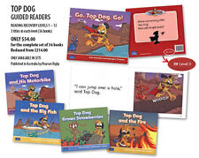 TOP DOG - 36  EARLY READERS  RR Levels 1 - 12  LEARNING TO READ Children's Books